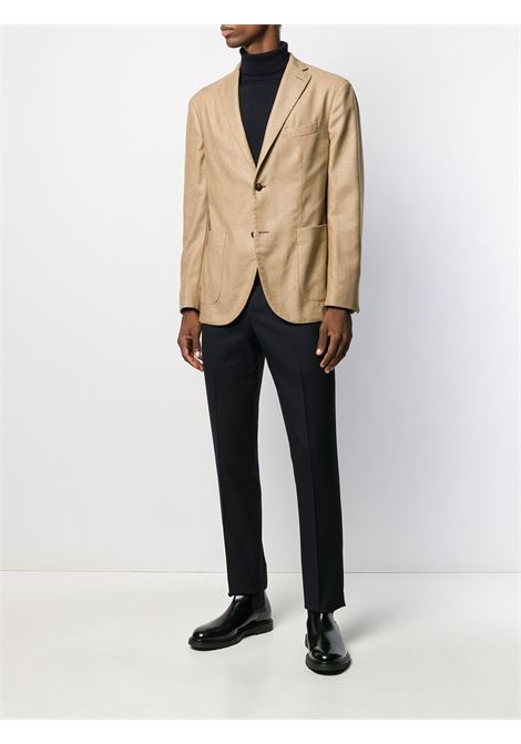 Camel wool and cashmere jacket with notched lapel BOGLIOLI |  | N1302J-BMC400270