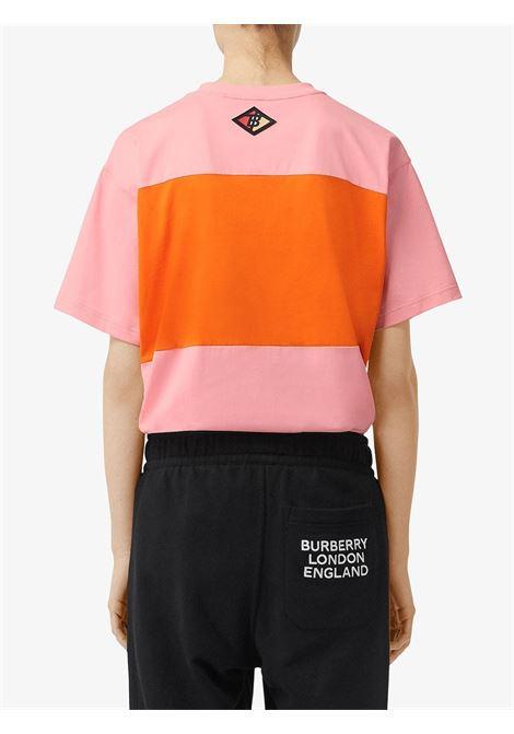 oversized pink and orange paneled t-shirt BURBERRY |  | 8021863-CARRICKA3245