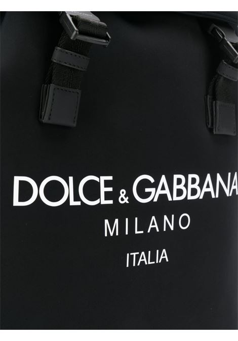 black cotton and neoprene Palermo backpack DOLCE & GABBANA |  | BM1756-AA350HNII7