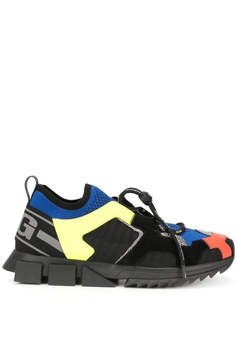 sneakers multicolor Sorrento Trekking in pelle di vitello DOLCE & GABBANA | Scarpa | CS1718-AA09780995