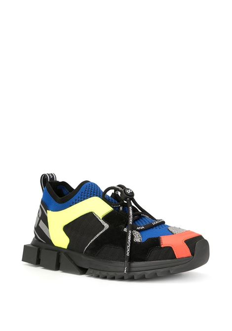 multicolored Sorrento Trekking calf leather sneakers DOLCE & GABBANA |  | CS1718-AA09780995