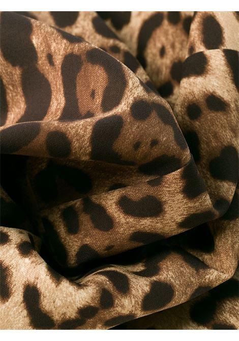 silk leopard print bodycon knee lenght dress DOLCE & GABBANA |  | F6B8HT-FSADDHY13M