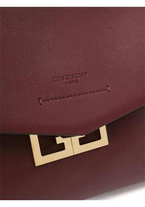 Borsa piccola Mystic in pelle di vitello color melanzana GIVENCHY | Borsa | BB50A3B0LG-MYSTIC542