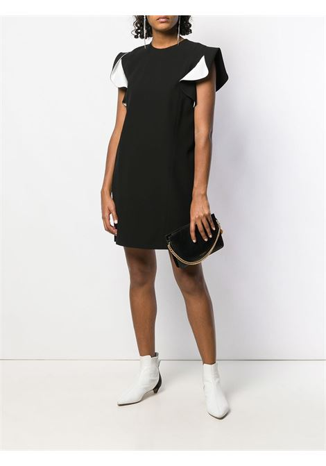 black and white sleeveless ruffle dress GIVENCHY |  | BW20KV10F4004
