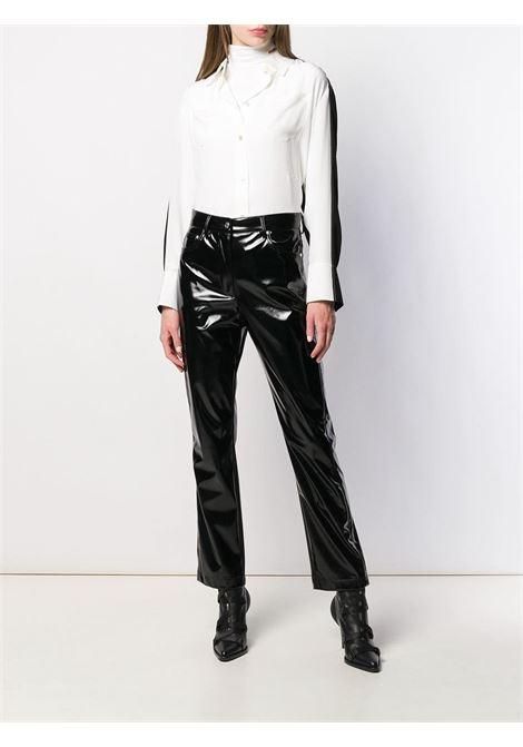 camicia in seta bi-colore bianco/nero GIVENCHY | Camicie | BW60FZ10JX004