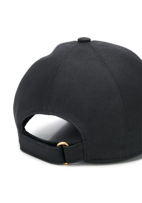 black cotton baseball hat with wool red Gucci front logo GUCCI |  | 596211-3HI491074