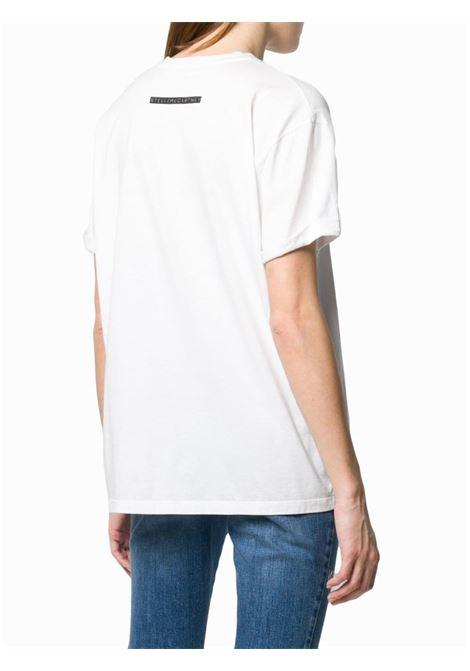 t.shirt in cotone bianco All Together now STELLA MC CARTNEY | Maglieria Moda | 457142-SMW869000