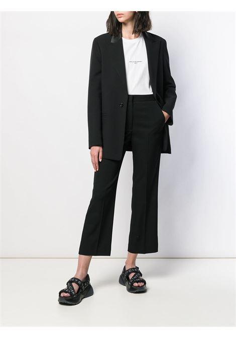 black high waist cropped wool pants STELLA MC CARTNEY      529866-SHB551000