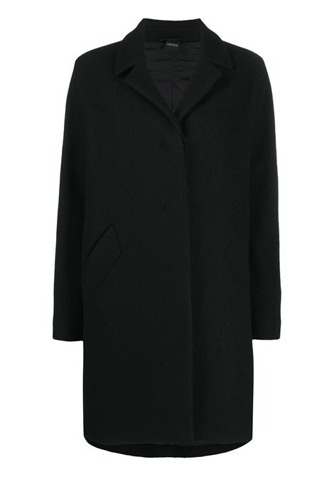 Black wool single breasted coat  ALBERTO ASPESI |  | 0701-526851241