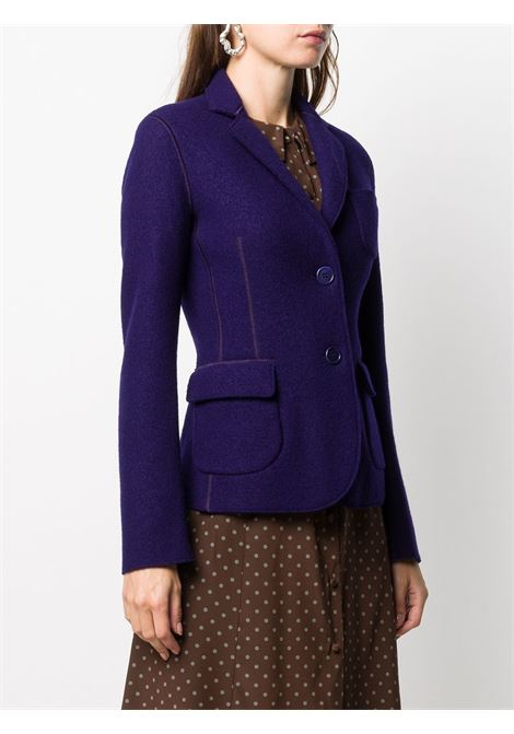 Violet wool fitted blazer featuring notched lapels ASPESI |  | 0933-526851400