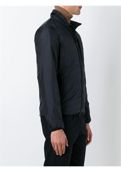 Piumino nero Jilcon con zip con collo a fascia ALBERTO ASPESI | Giubbini | 2I36-796196241
