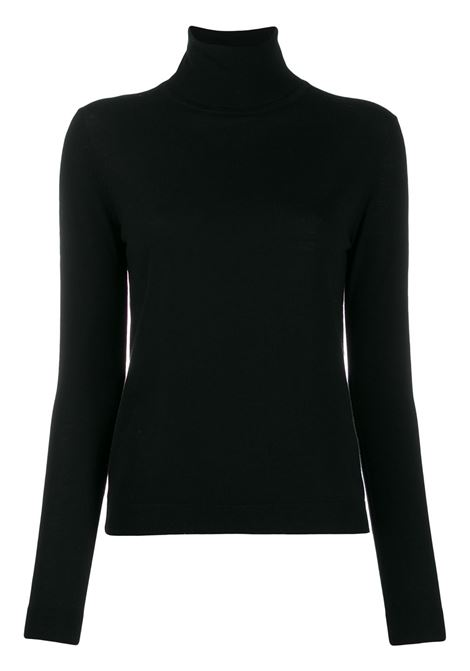 black wool jumper featuring roll neck ALBERTO ASPESI |  | 4083-496701241