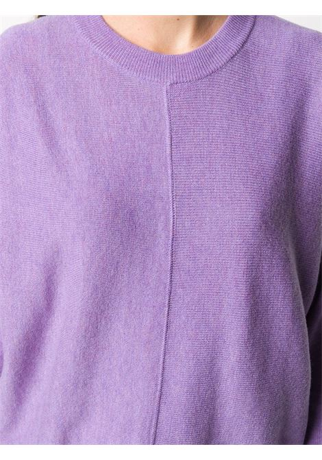 Maglia in lana lavanda con girocollo ALBERTO ASPESI | Maglieria | 5030-396501205