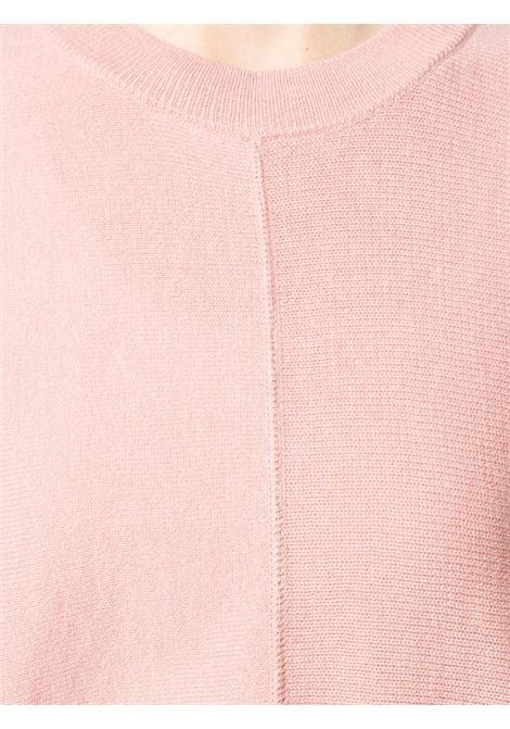 Pink wool jumper featuring fine knit ALBERTO ASPESI |  | 5030-396501281