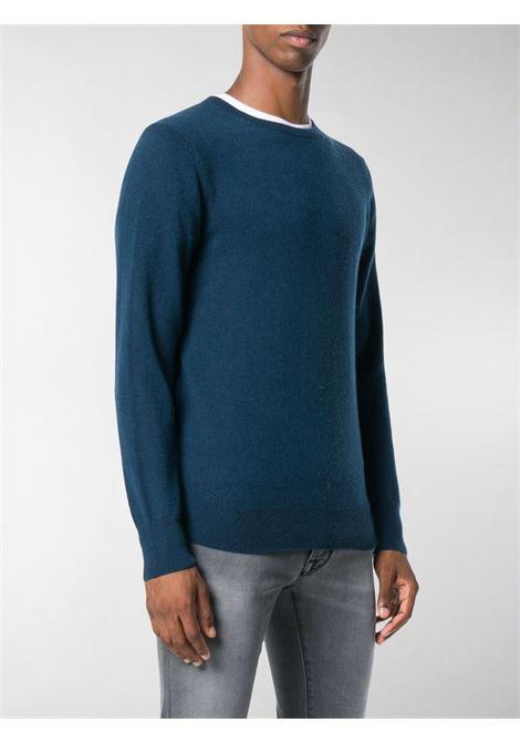 Maglioncino in cashmere blu ottanio ASPESI | Maglieria | M105-456811344