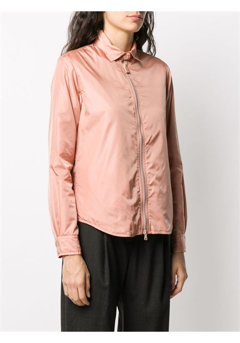 Nude pink zip-through jacket featuring straight-point collar ALBERTO ASPESI |  | N017-796196281