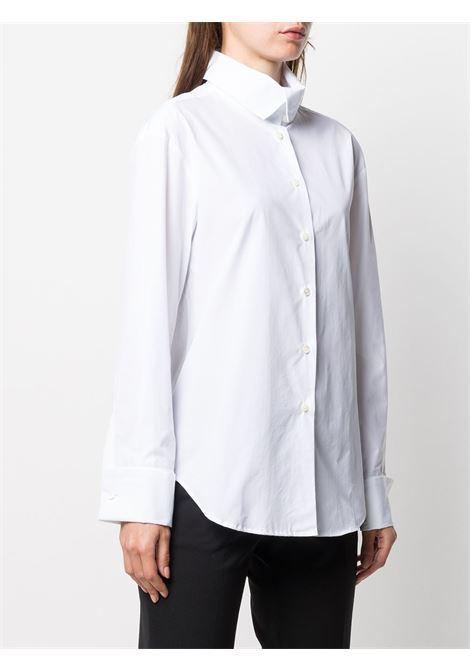 White cotton classic button-up shirt ALBERTO BIANI |  | MM839-CO013510