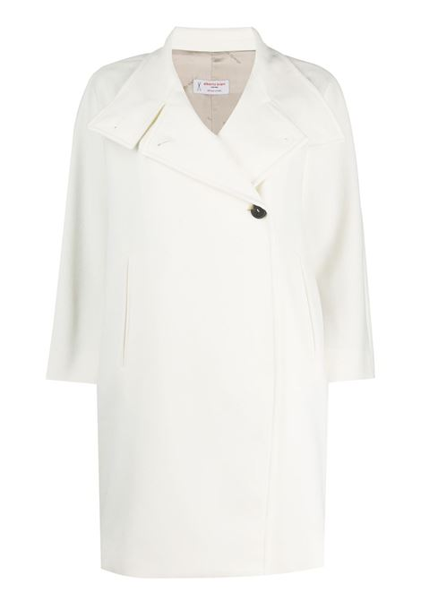 White virgin wool buttoned high-neck coat ALBERTO BIANI |  | OO829-WO003711