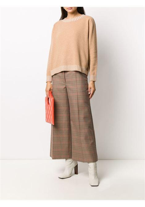 Beige cashmere-virgin wool blend crew-neck knit jumper  ALTEA |  | 206152031