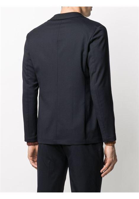dark navy single breasted twill blazer featuring multiple patch pockets ALTEA |  | 206204601