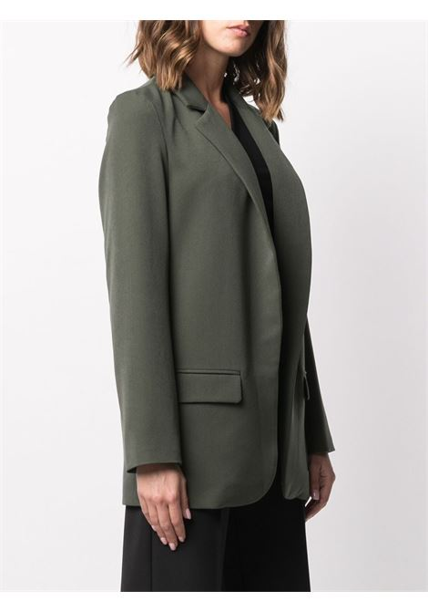 Forest Green single breasted blazer featuring notched lapels ALTEA |  | 206250445
