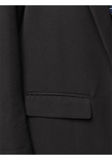 Giacca monopetto nera con rever classico ALTEA | Giacche | 206250490