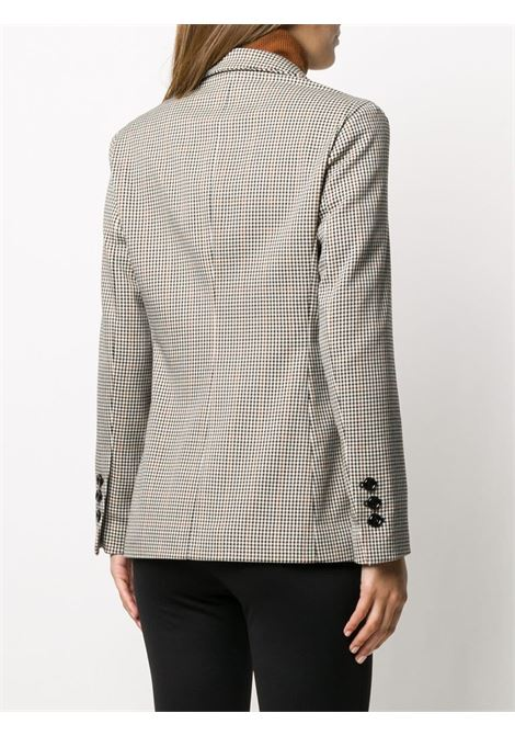 Grey checked double-breasted blazer  ALTEA |  | 206251390