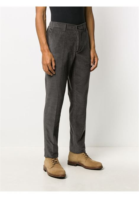 Grey cotton-camel hair blend trousers featuring corduroy ALTEA |  | 206303021