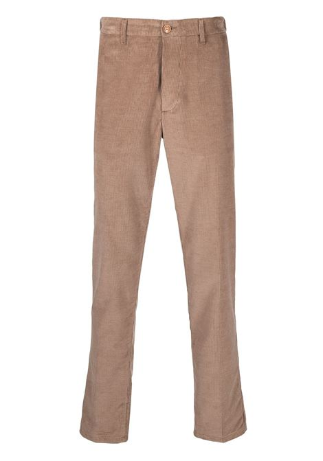 light tan cotton-blend straight-leg trousers featuring corduroy ALTEA |  | 206303034