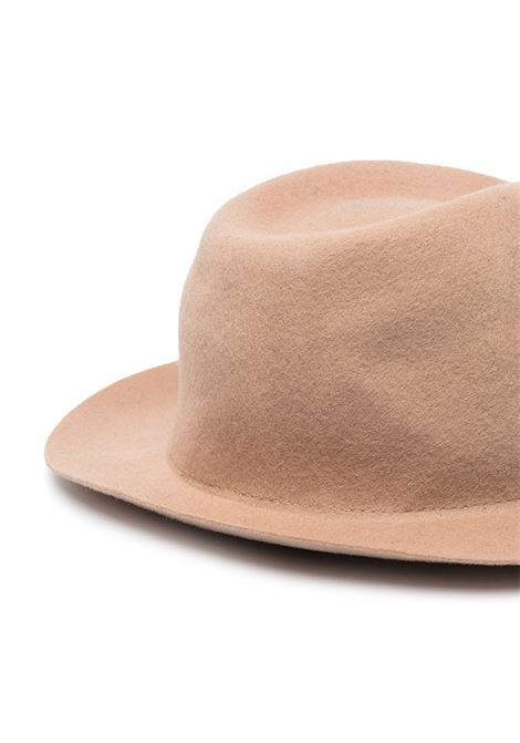 Camel virgin wool felt fedora hat ALTEA |  | 206810231