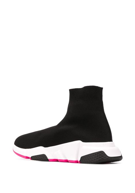 black canvas Speed sneakers with white rubber sole and pink detail BALENCIAGA |  | 587280-W17251915