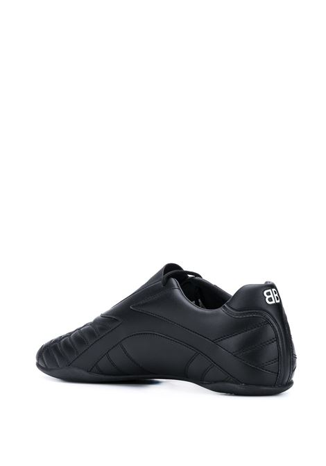 Black leather Zen sneakers  BALENCIAGA |  | 617540-W2CG11002