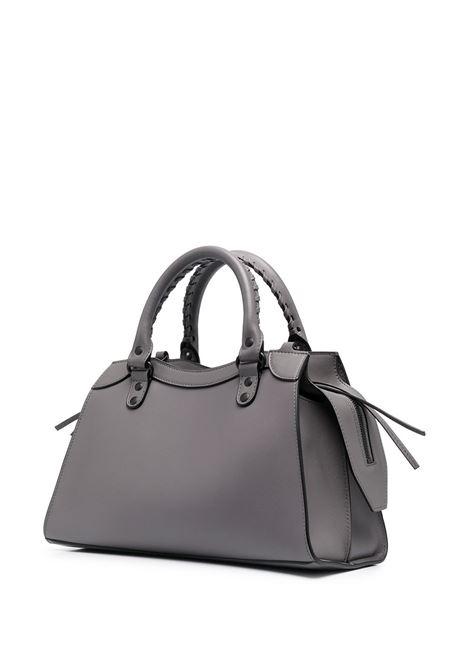 Dark grey leather small Neo Classic City tote bag  BALENCIAGA |  | 638521-11R171404