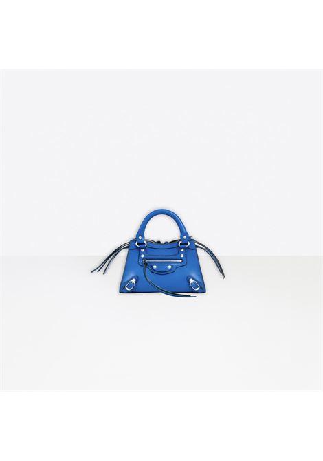 Electric blue leather Neo Classic City mini bag featuring Balenciaga debossed logo BALENCIAGA |  | 638524-11R1Y4227