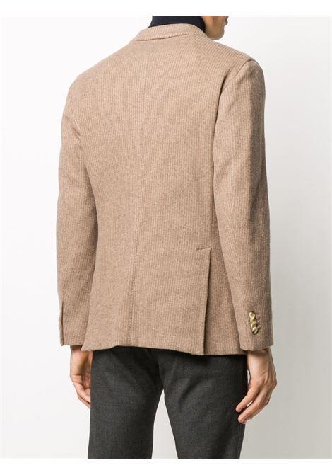 Giacca doppiopetto color sabbia in lana BOGLIOLI | Giacche | N4302E-BSC0170330