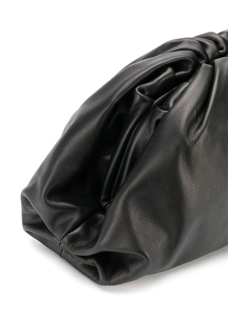 The Pouch Bag black butter calf leather. Size big