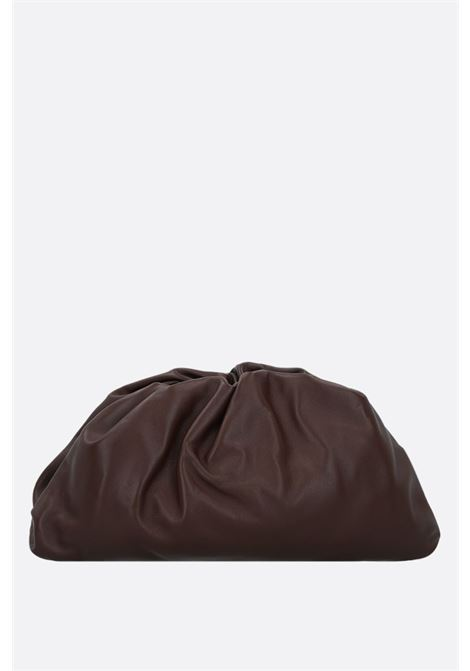 The Pouch Bag in brown calf leather. Size big