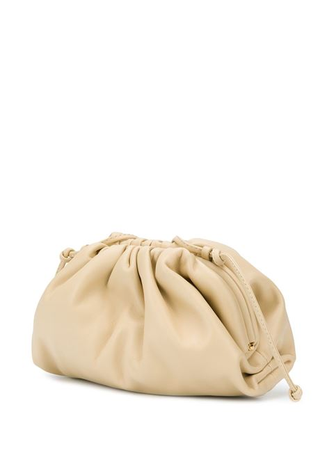 The Pouch Bag beige calf leather and tassel. Size small BOTTEGA VENETA |  | 585852-VCP409782