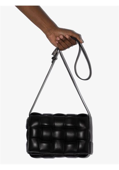 Cassette shoulder bag in black lamb leather and tassel BOTTEGA VENETA |  | 591970-VCQR11229