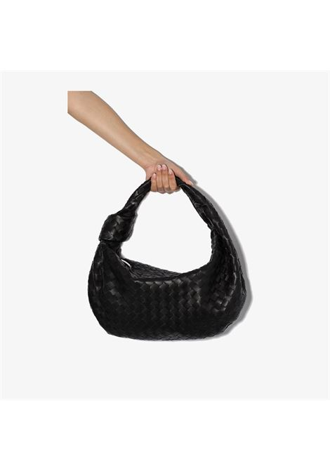 medium round hobo Jodie black lambskin bag BOTTEGA VENETA |  | 600261-VCPP01229