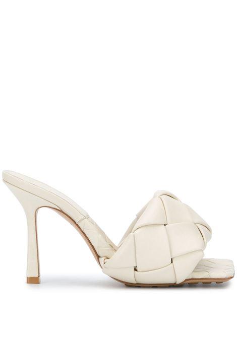 white120mm high stiletto heel BV Lido padded quilted leather sandal BOTTEGA VENETA |  | 608854-VBSS08279