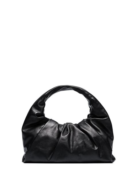 The Shoulder Pouch in matte black calf leather BOTTEGA VENETA |  | 610524-VCP401229