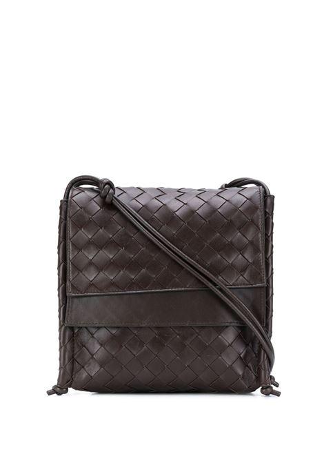black lamskin Intrecciato motif shoulder bag BOTTEGA VENETA |  | 631463-VCPP18803