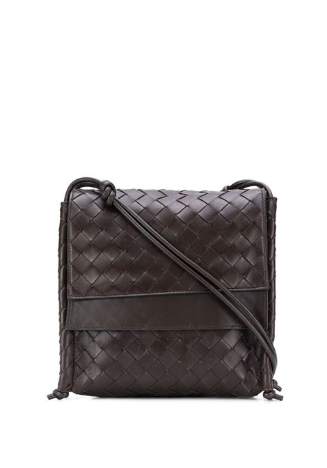 black lamskin Intrecciato motif shoulder bag BOTTEGA VENETA |  | 631463-VCPP18803