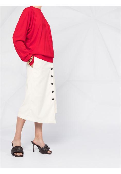 100% merino wool red oversize knitwear BOTTEGA VENETA |  | 633132-VKWI06188