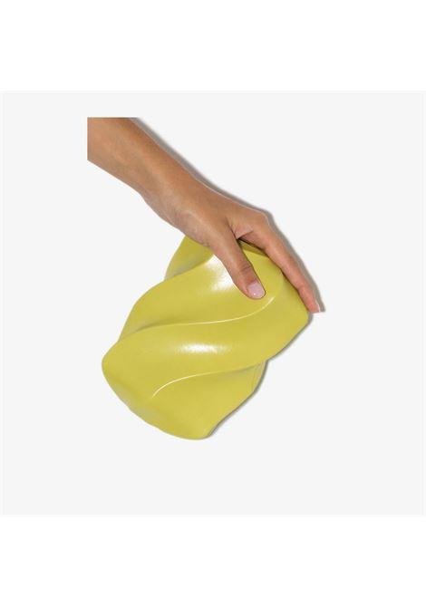 Yellow calf leather BV Whirl clutch bag BOTTEGA VENETA |  | 639332-VA9A03520