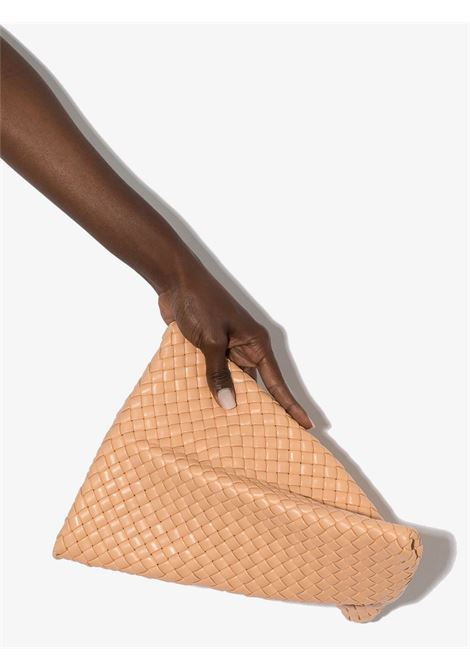 Pochette intrecciata Twist in pelle beige BOTTEGA VENETA | Clutch | 640678-V01D12700