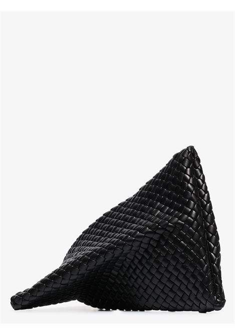 Pochette Twist Intrecciato in pelle nera BOTTEGA VENETA | Clutch | 640678-V01D18425