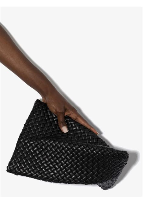 Black Twist leather Intrecciato clutch bag BOTTEGA VENETA |  | 640678-V01D18425