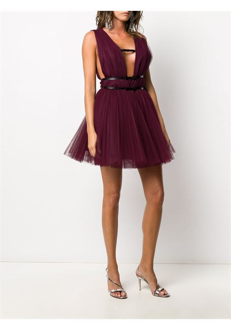 red bow-embellished tulle sleveless mini dress BROGNANO |  | 29BR1A11-20475175